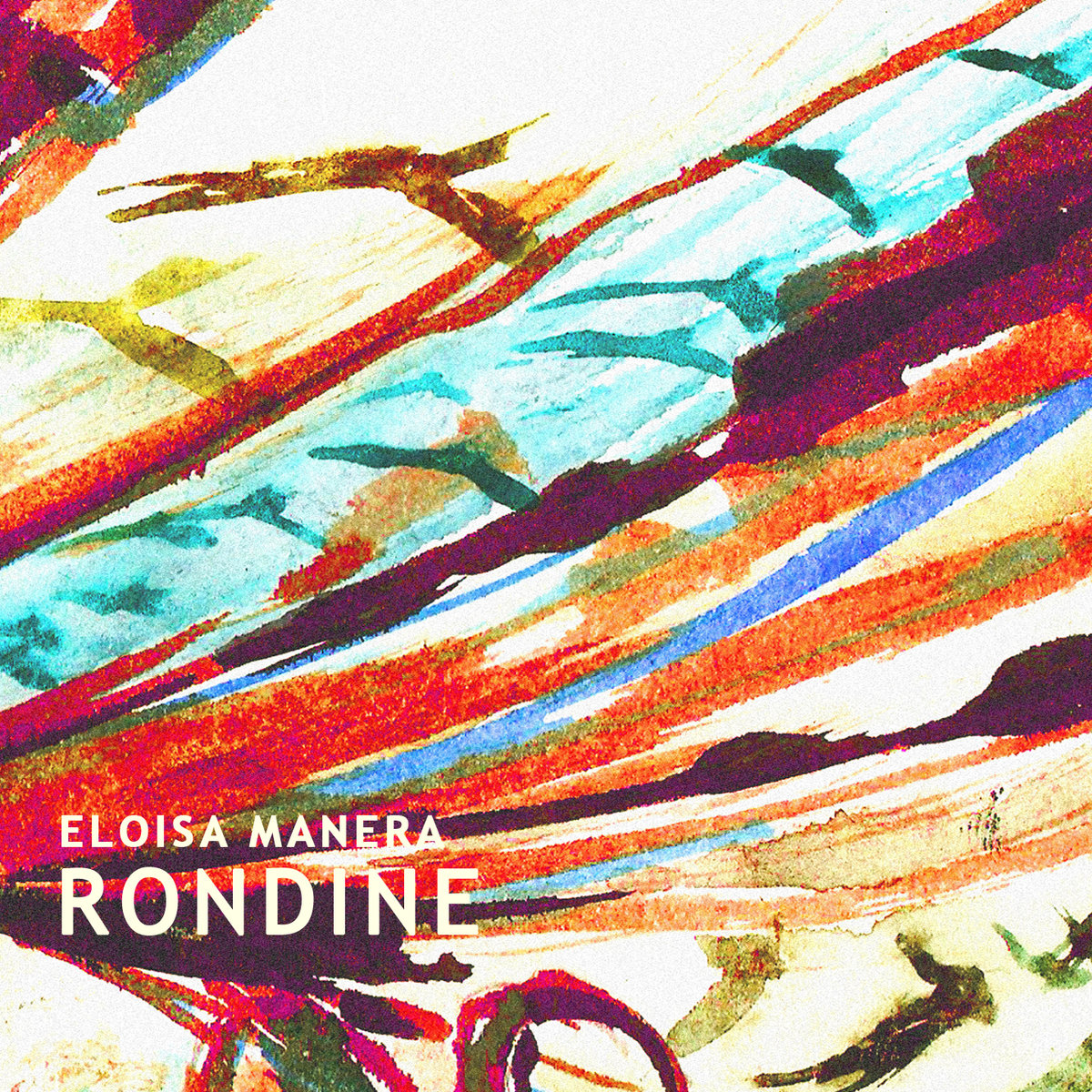 Eloisa Manera - 'Rondine' - album cover